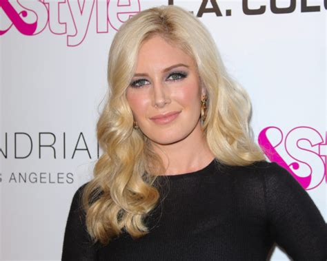 Heidi Montag Shared Stunning Pic Her Bump