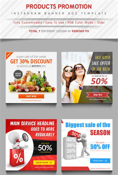 banner ad template 50 free psd format free premium templates
