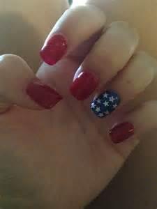 4th July Acrylic Nails
