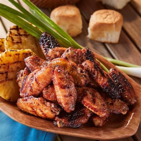 Doesn't get easier than that! Grilled Teriyaki Chicken Wings Recipe Recipe | Kingsford | Kingsford®