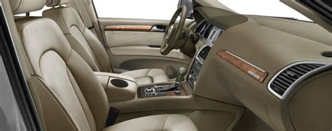Q7 Interior Colors Leather Seating Surfaces In Cardamom