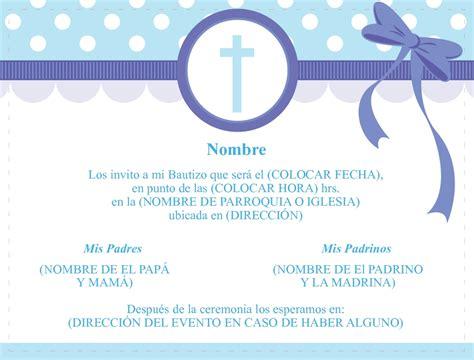 templetes para invitaciones de bautizo bautizo invitaciones template gratis invitaci 243 nes de