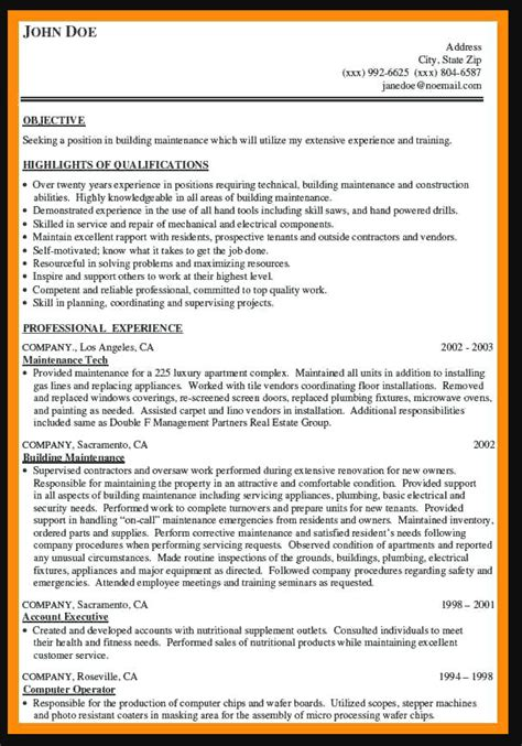 Maintenance Worker Resume by General Maintenance Worker Resume Sle Ipasphoto