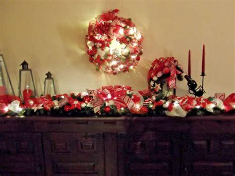 girlande weihnachten beleuchtet t 252 rbogen girlande t 252 rkranz weihnachten beleuchtet rot wei 223 tilda 190 cm m 246 bel wohnen