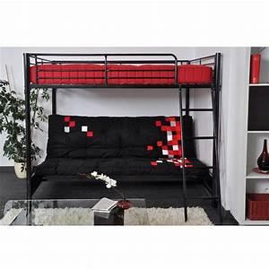 Lit Mezzanine 140x190 : 1000 ideas about achat matelas on pinterest chaise ~ Melissatoandfro.com Idées de Décoration