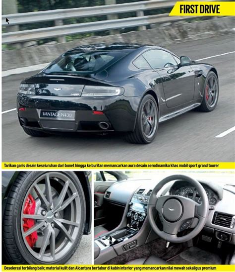 Gambar Mobil Aston Martin Vantage by Review Spesifikasi Mobil Aston Martin Vantage N430 Mei