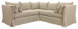 farmhouse slipcovered sectional with arm ties farmhouse With sectional sofa farmhouse