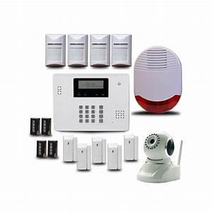 Video Surveillance Maison : alarme sans fil video surveillance ~ Premium-room.com Idées de Décoration