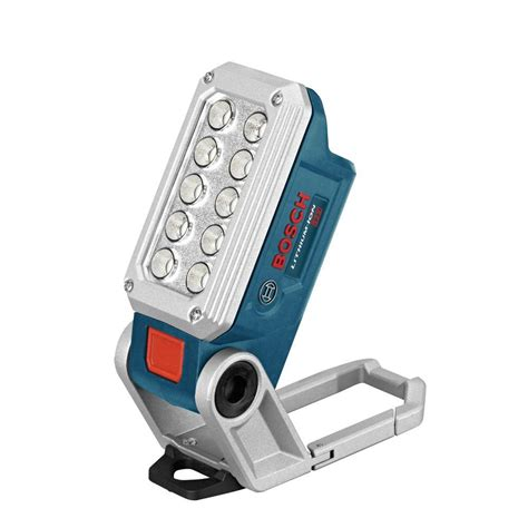 bosch 12 volt lithium ion work light with 10 led lights