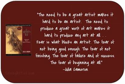 Quotes Artist Way Artists Cameron Julia Being