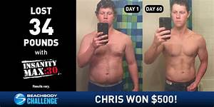 INSANITY MAX:30 Results: Chris Lost 34 Pounds in 60 Days ...