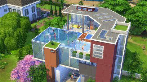 Sims Freeplay Second Floor Patio by Alle Infos Ersteindruck Zu Den Pools In Die Sims 4