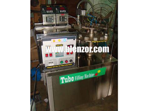 tube filling machine fully automatic machine blenzor india