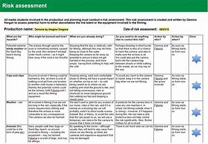 pre production i downloaded a risk assessment template With workplace hazard assessment template
