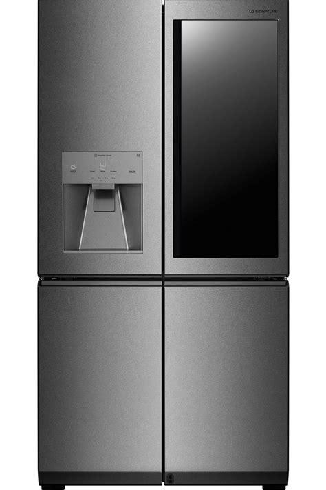 lg signature textured steel refrigerator lupxcn
