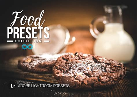 food photography lightroom presets collection