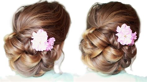 Pretty Updo Hairstyles pretty updo for medium hair updo hairstyles