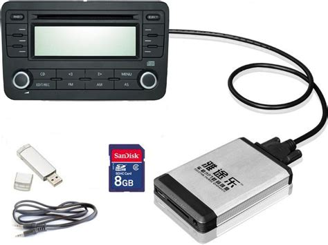 cd aux adapter china digital cd changer usb sd aux adapter for in car