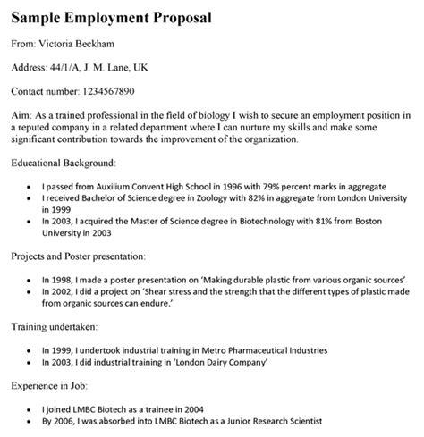 employee proposal template  piece