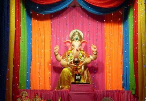 ganesh chaturthi ganpati   easy decoration ideas