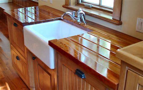 custom wood countertops cutout  jointing options