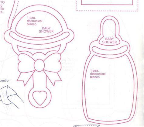 moldes para todo adorno para baby shower goma invitaciones de baby shower para