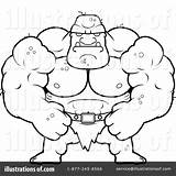 Ogre Clipart Coloring Pages Cory Thoman Illustration Royalty Rf Getcolorings Print Printable sketch template