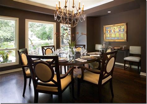 modern masculine dining room designs