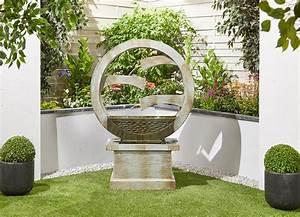 Tranquil, Spills, Easy, Fountain, Garden, Water, Feature