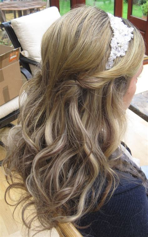 35 half up half down wedding hairstyles for long hair