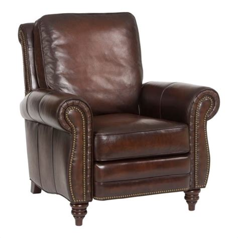 leather recliner chairs furniture seven seas leather recliner arm chair