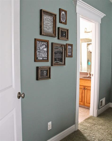 paint color valspar blue arrow rustic frames hobby lobby new home decor ideas paint