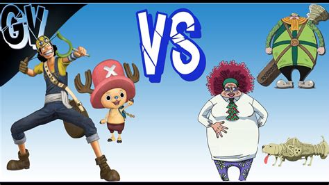 Mr O Vs Miss Ab one psp usopp e chopper vs mr 4 miss