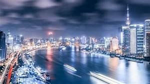 Beautiful, City, Shanghai, Hd, Wallpapers, High, Definition