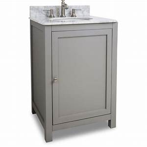 Jeffrey alexander van103 24 t grey astoria modern for Bathroom vanities 24 inches wide
