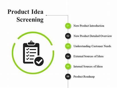 Idea Screening Powerpoint Ppt Sample Presentation Examples