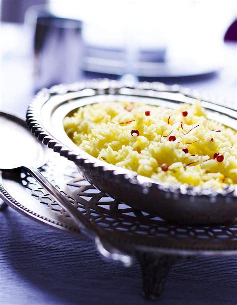 cuisine au safran riz basmati au safran pour 4 personnes recettes à table