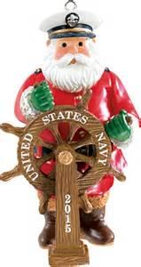 carlton heirloom ornament 2015 navy santa cxor030h ebay