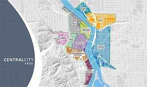 Central City Districts | The City of Portland, Oregon