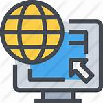Internet Icon Dns Icono Server Premium Getdrawings