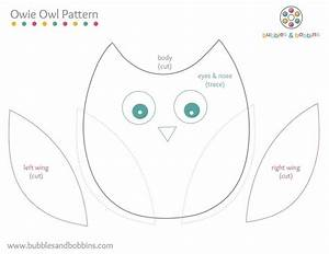 owl templates for sewing - owl pattern social work pinterest