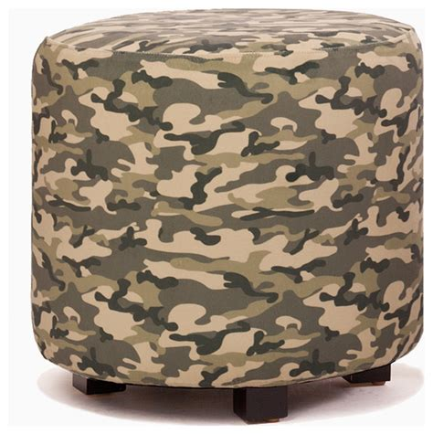 Camo Ottoman by Camouflage Ottoman Contemporary Footstools And