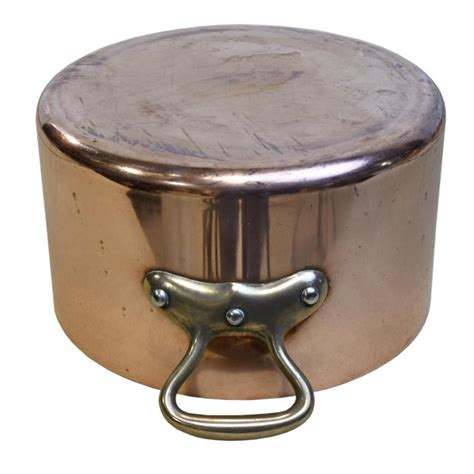 french  dehillerin cuprinox extra thick copper cookware  sale  stdibs