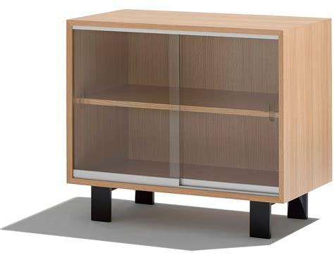 sliding cabinet doors nelson basic cabinet with glass sliding doors hivemodern