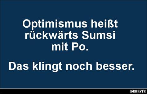 optimismus heisst rueckwaerts sumsi mit po lustige bilder