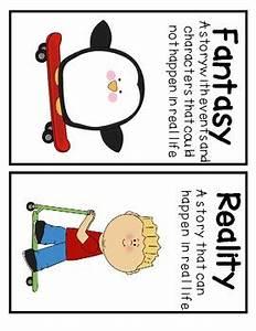 Fantasy Vs. Reality Literacy Station Activity   Teaching ...