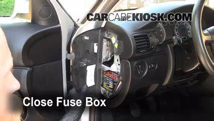 1995 Vw Passat Fuse Box Cover by Interior Fuse Box Location 1998 2005 Volkswagen Passat