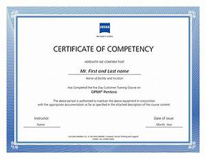 Competency certificate template 28 images certificate for Competency certificate template