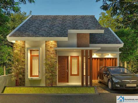 desain rumah minimalis modern    lantai  contoh