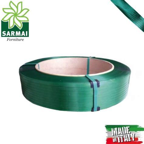 rotolo reggetta reggia verde poliestere alta resistenza